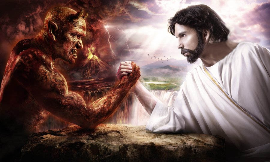 A war between two theocracies  -Yeshua vs satan